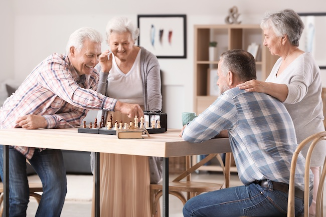 Assisted living options offer a better quality of life.
